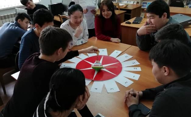 Литературно-познавательный игра в АИГИ
